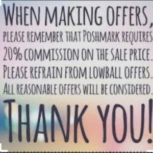 I'll accept or counter-No 1/2 price offer accepted